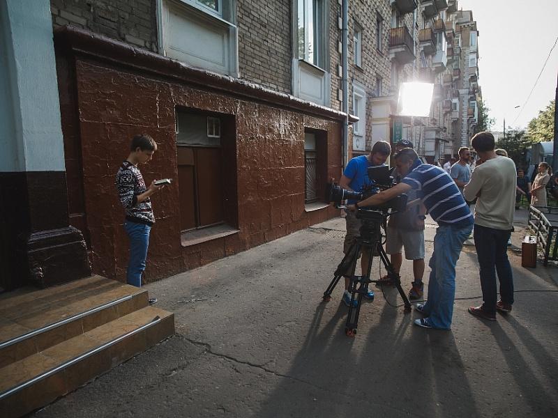 Съёмки клипа «Крестики-нолики» Виктора Рыбина и Натальи Сенчуковой