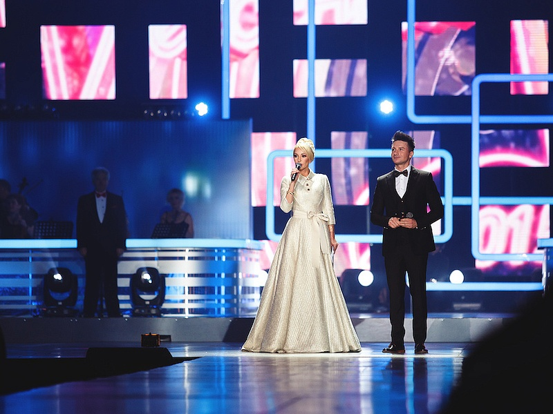 Лера Кудрявцева и Сергей Лазарев. «Песня Года-2015»