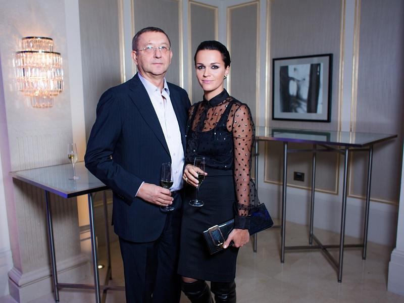 Певица Слава с супругом. Презентация клипа Филиппа Киркорова, 2015