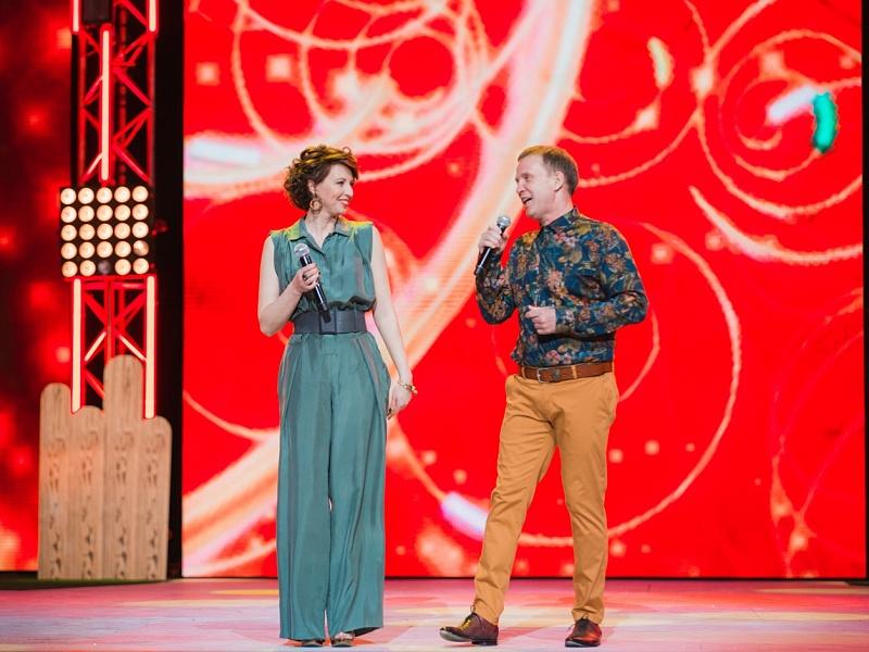 Виктор Рыбин и Наталья Сенчукова. Фестиваль «Disco Дача 2015»