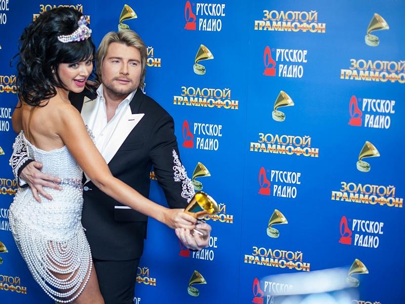 Натали и Николай Басков. «Золотой Граммофон 2014»