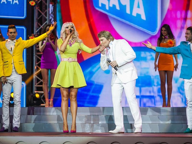 Натали и Николай Басков. Фестиваль «Disco Дача 2014»