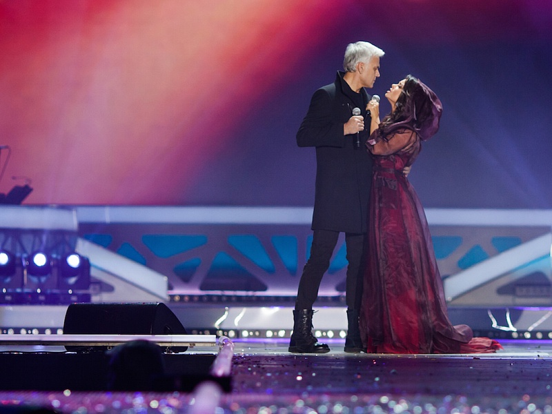 Наташа Королёва и Александр Маршал. «Песня года 2014»