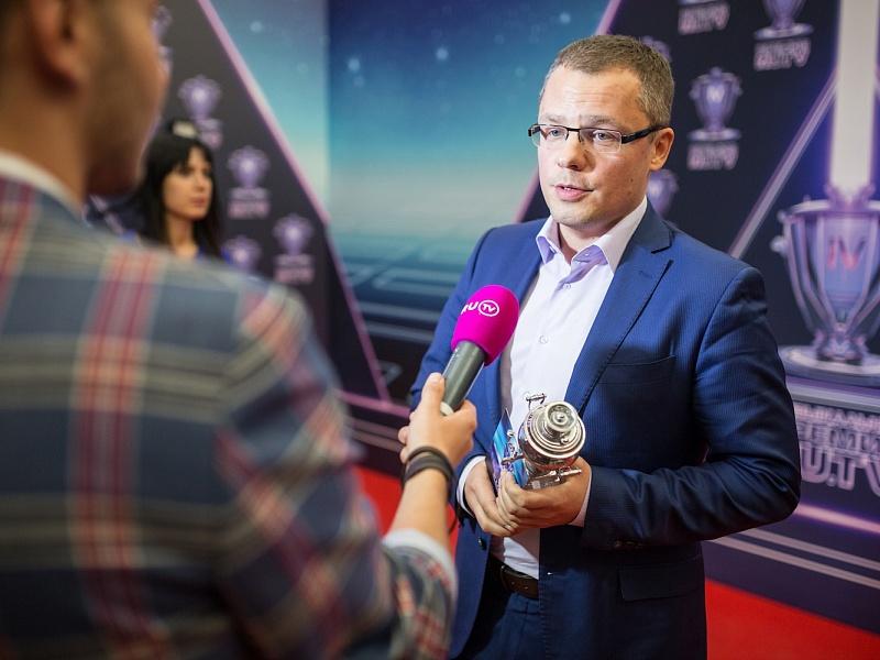 Руководитель центра Артур Вафин. IV Русская музыкальная премия RU.TV