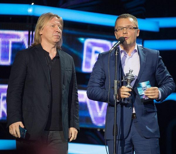 Виктор Дробыш и Артур Вафин. IV Русская музыкальная премия RU.TV