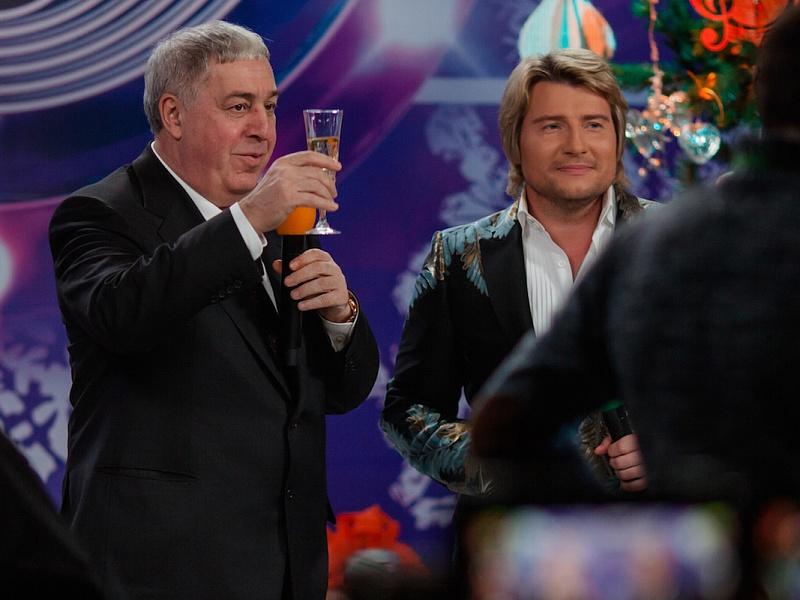 Михаил Гуцериев и Николай Басков. «Песня года 2014»