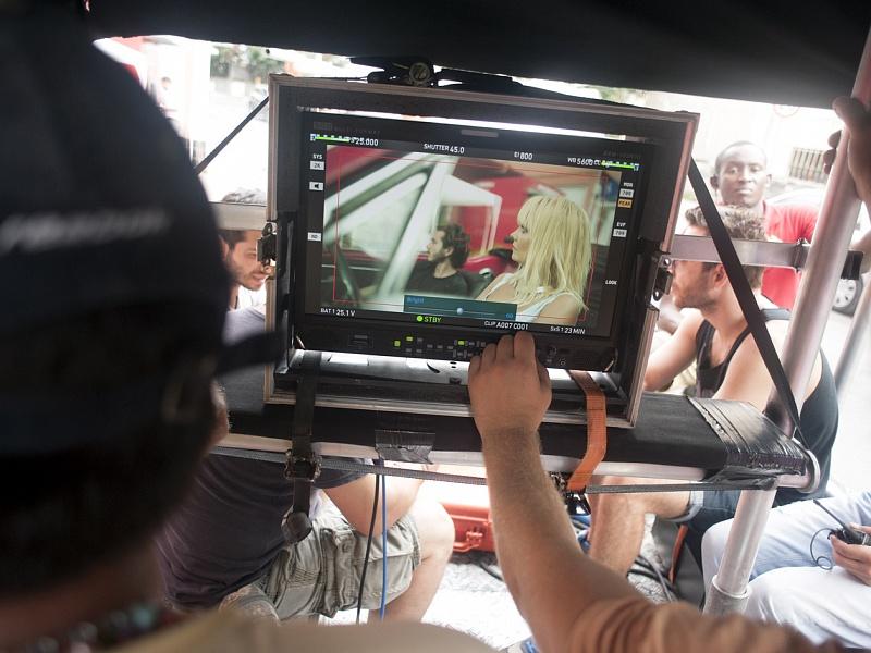 Съёмки клипа «Это время любви» Валерии