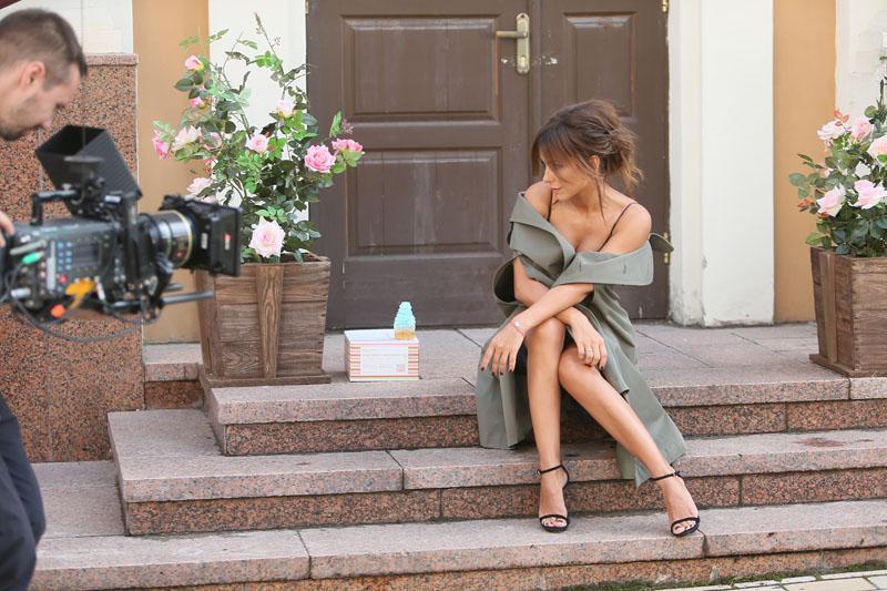 Съёмки клипа «Осеняя любовь» Ани Лорак