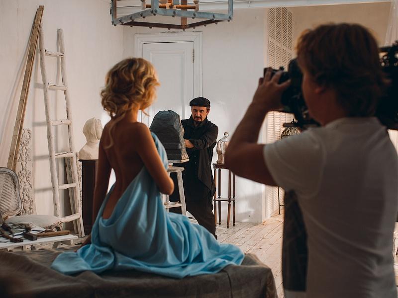Съёмки клипа «Сон, где мы вдвоем» Стаса Михайлова