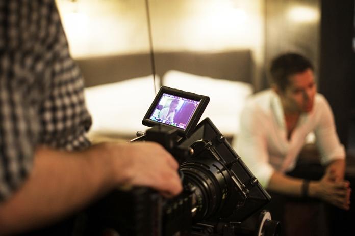 Съёмки клипа «Зеленый омут» Стаса Пьехи