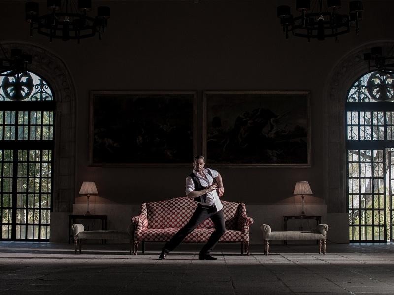 Съёмки клипа «Дикое танго» Лаймы Вайкуле