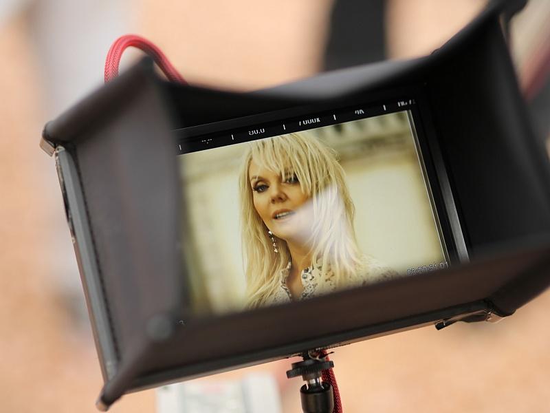 Съёмки клипа «Мы боимся любить» Валерии