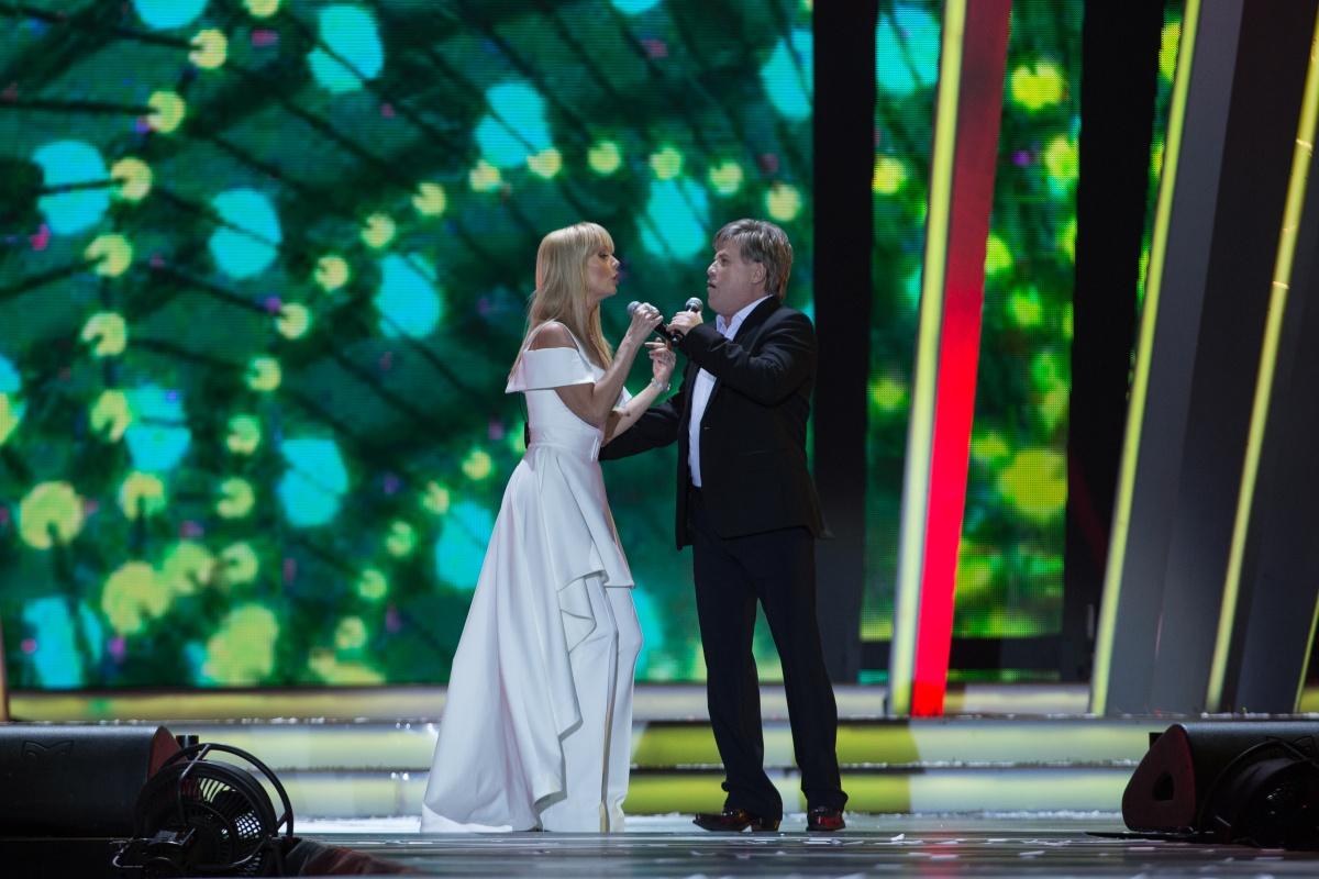 Валерия и Алексей Глызин. «Песня Года-2016»