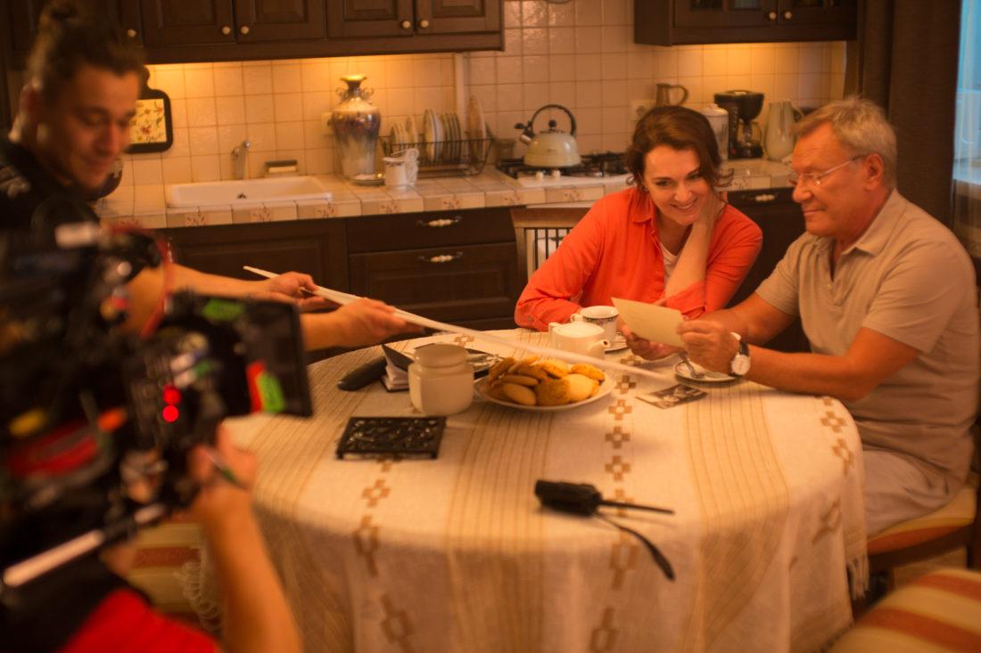 Съемки клипа «Одна на двоих бессонница» Кристины Орбакайте