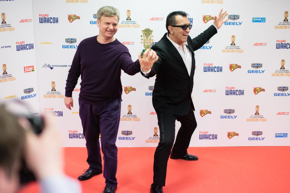 Александр Буйнов и Андрей Ктитарев. «Шансон Года-2017»