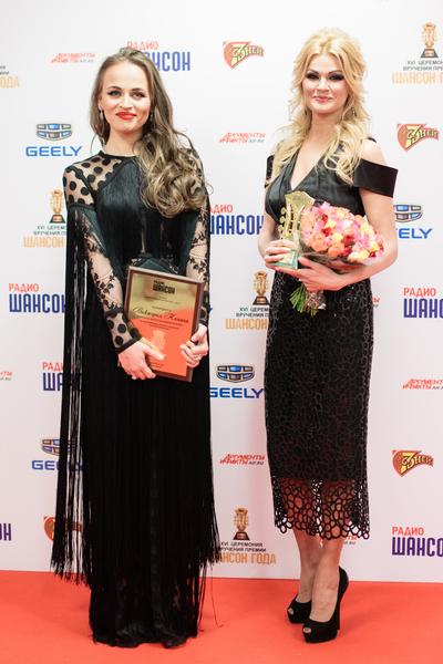 Виктория Кохана и Ирина круг. «Шансон Года-2017»