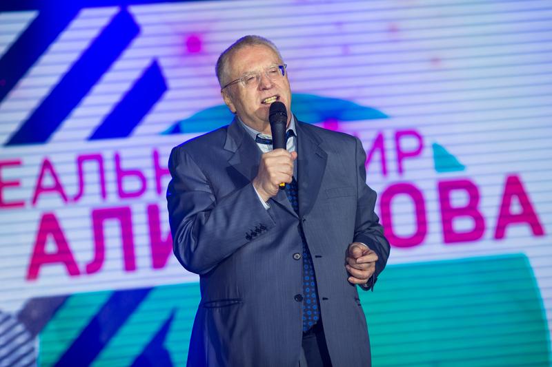 В. Жириновский. Бари Алибасов. Юбилей 2017 год