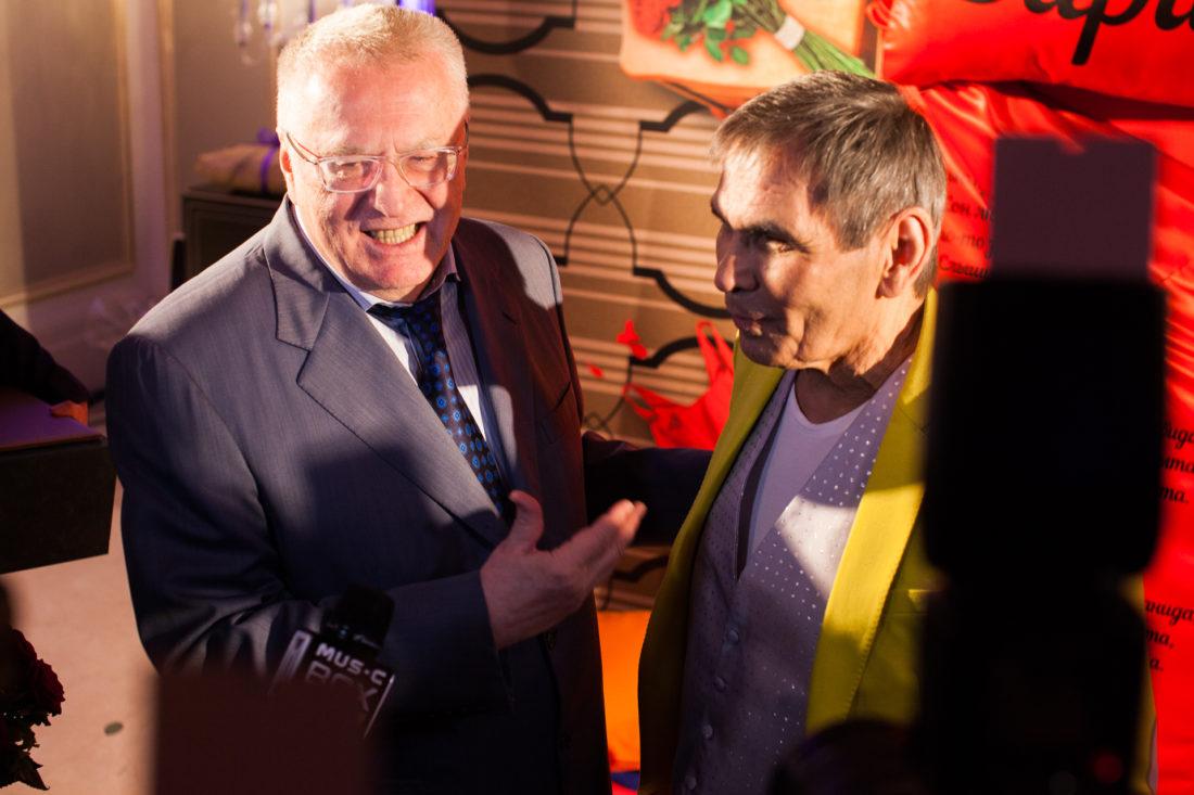 Бари Алибасов и Владимир Жириновский. Юбилей 2017 год