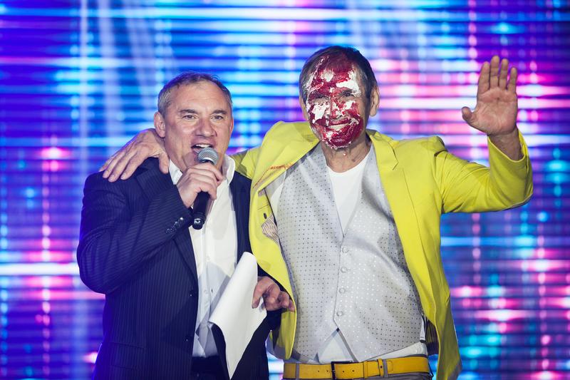 Бари Алибасов и Николай Фоменко. Юбилей 2017 год