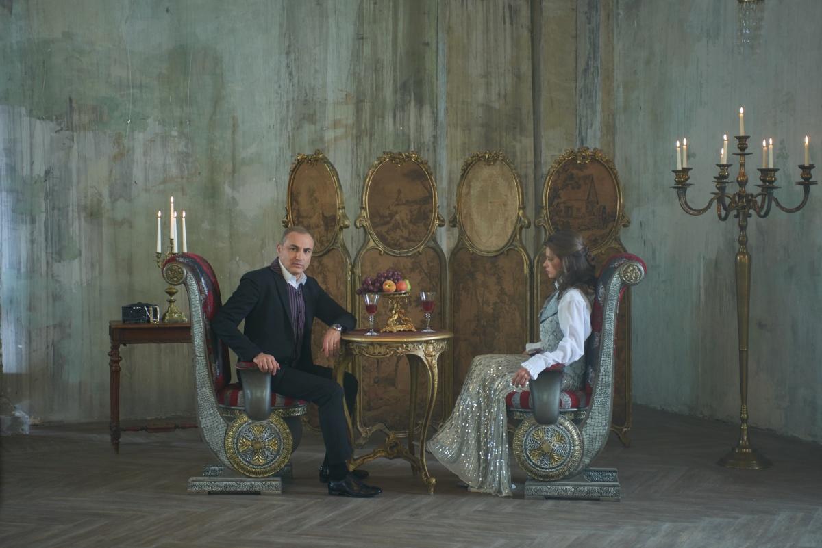 Съёмки клипа «Знаешь ты» Хора Турецкого