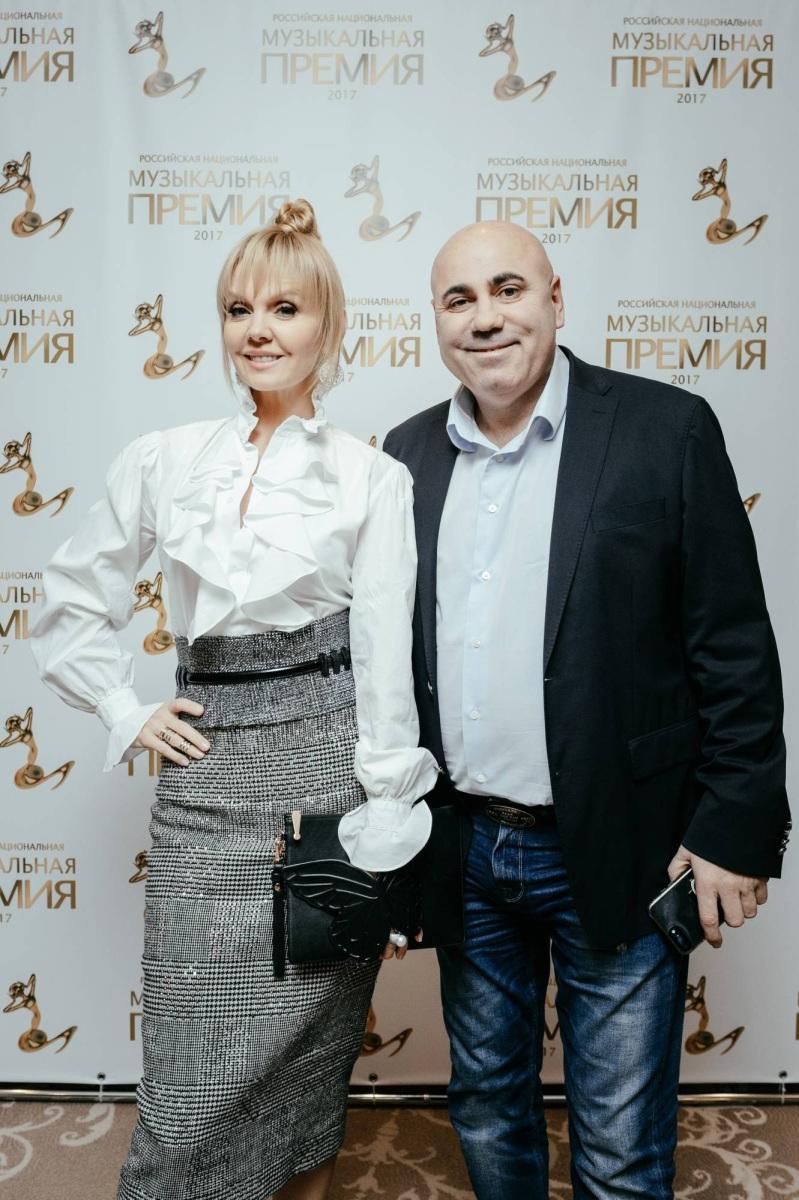 Валерия и Иосиф Пригожин. Российская Национальная Музыкальная Премия