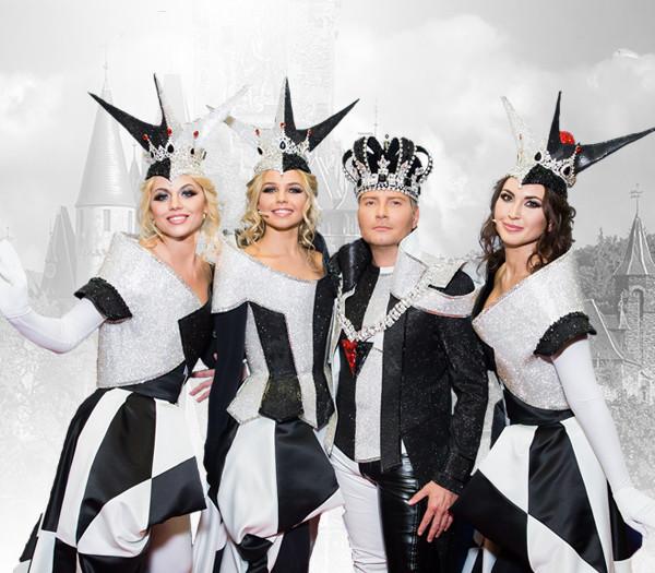 Николай Басков и группа QUEENS