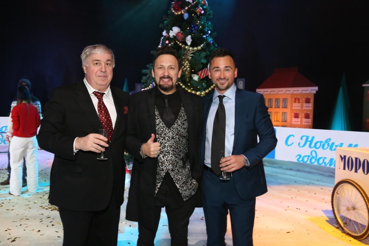 Михаил Гуцериев, Стас Михайлов и Сергей Ревтов. «Песня Года-2017»