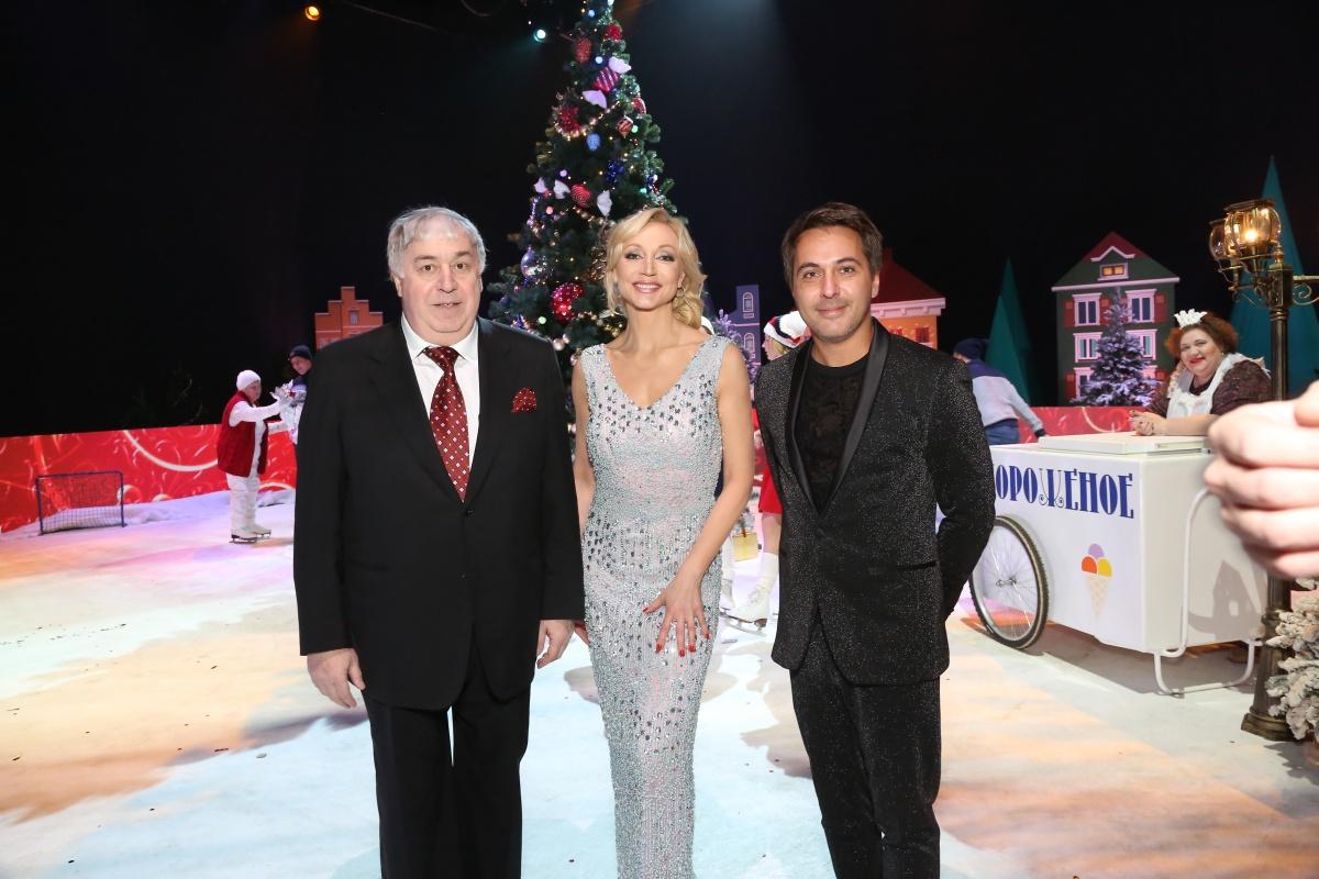 Михаил Гуцериев, Кристина Орбакайте и Алексей Романоф. Песня года 2017