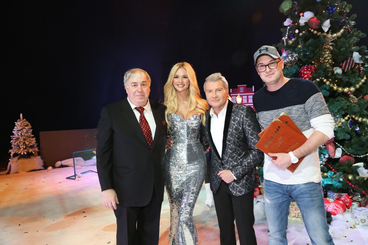 Михаил Гуцериев, Николай Басков, Виктория Лопырева и Тимофей Леонтьев. Песня года 2017