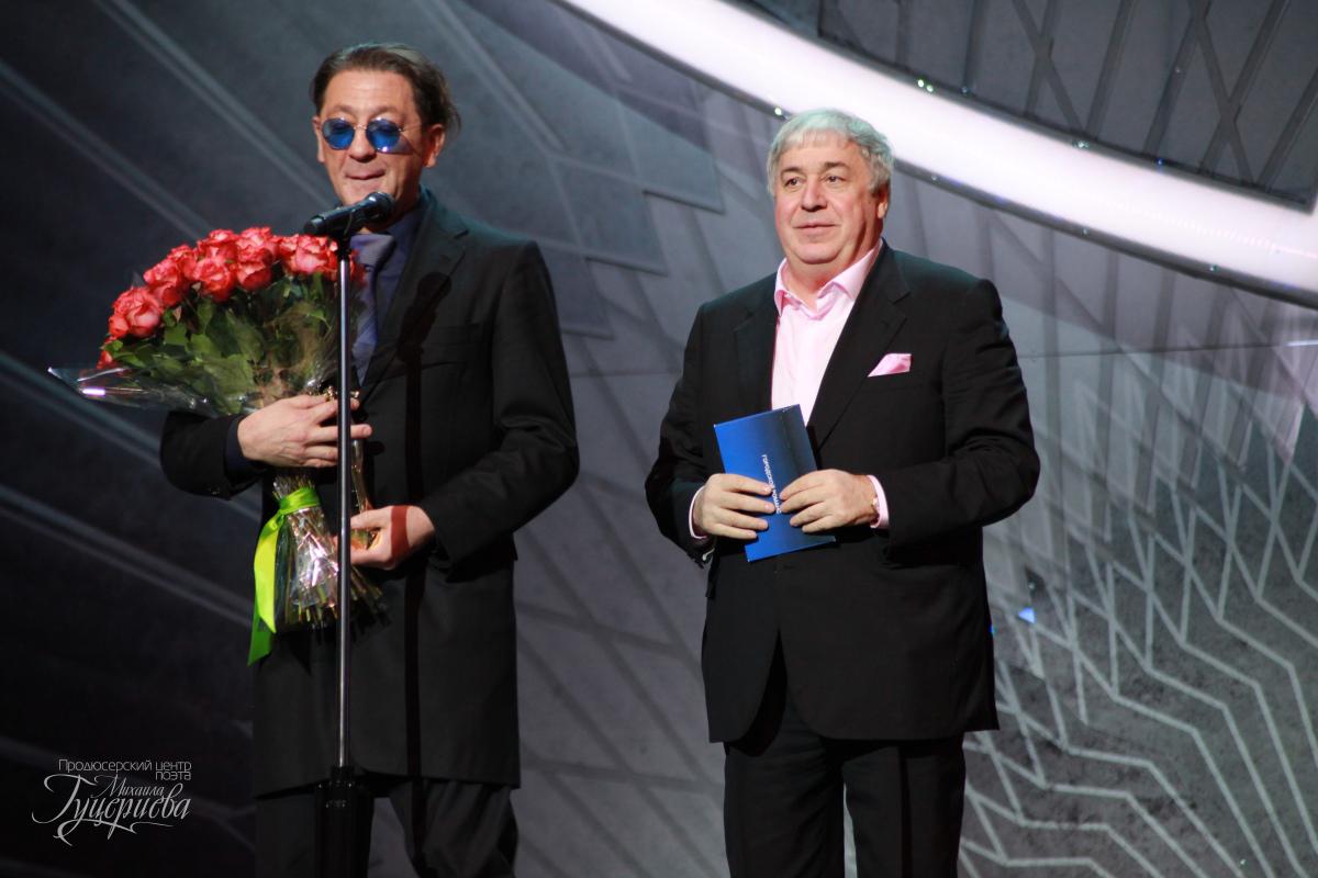 Михаил Гуцериев и Григорий Лепс. Российская Национальная Музыкальная Премия 2017