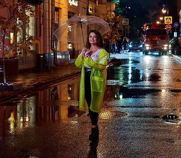 Съёмки клипа «Осень под ногами на подошве» Наташи Королёвой