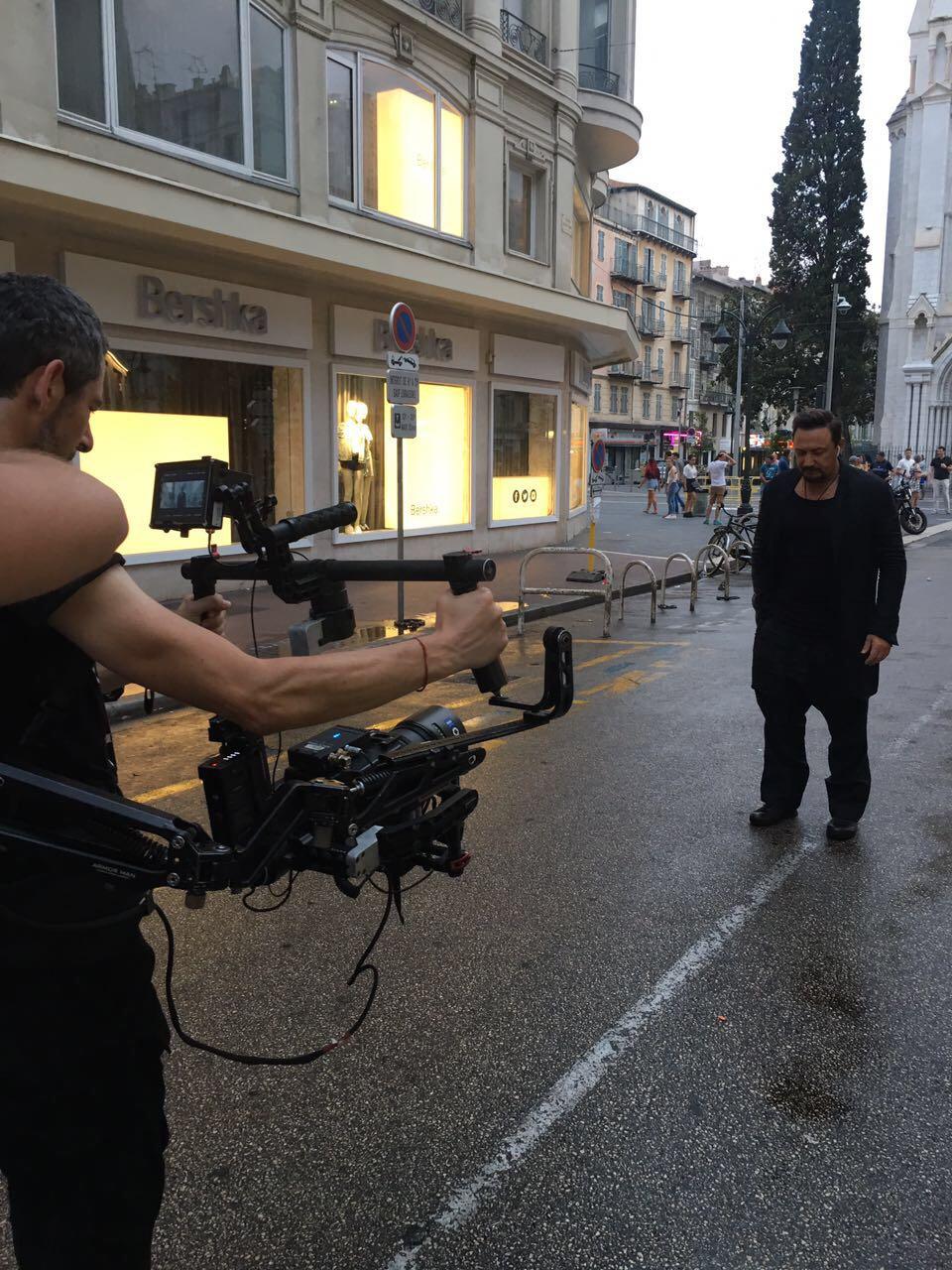 Съёмки клипа «Нас обрекла любовь на счастье» Стаса Михайлова